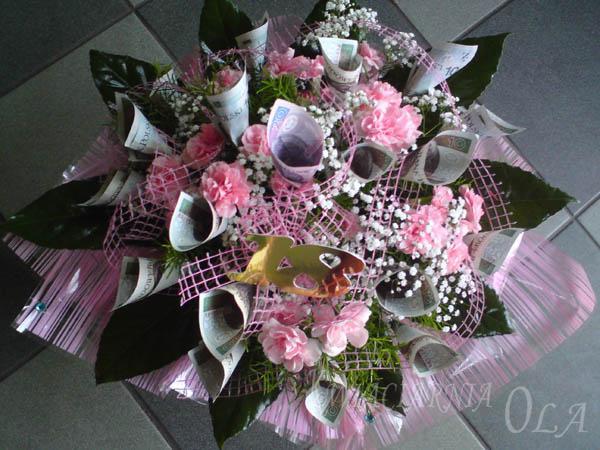 Nietypowe Bukiety I Kosze 18 Urodziny Zdjęcia Kwiaciarnia Ola